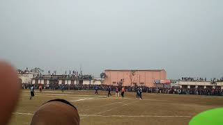 Madhubani vs jhanjharpur final cricket 🏏 match watson school madhubani