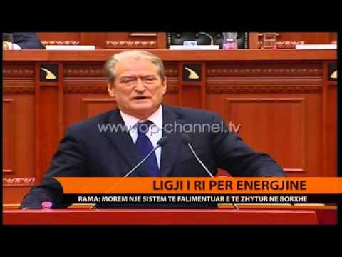 Rama: Ndryshime rrënjësore në sektorin energjitik - Top Channel Albania - News - Lajme