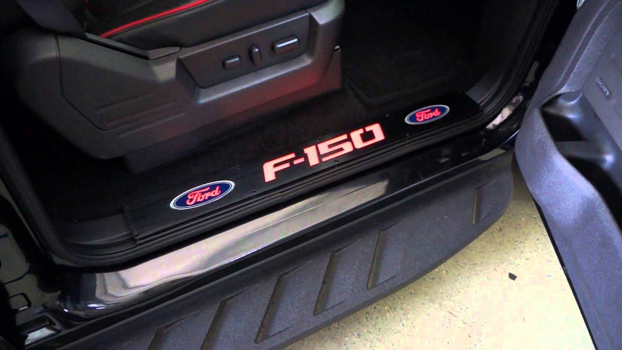 Recon Part 264321fdbkrd Ford 09 14 F 150 Door Sill Black
