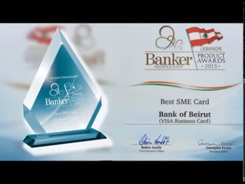 Four Banker Middle East Awards granted to Bank of Beirut- 2015