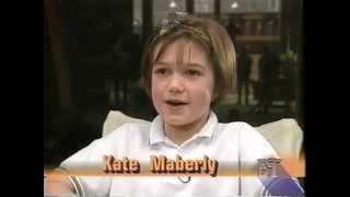 Kate Maberly 1993 on set  Secret Garden