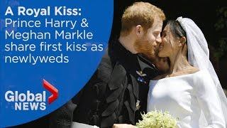 download musica Royal Wedding: Prince Harry Meghan Markle share first kiss
