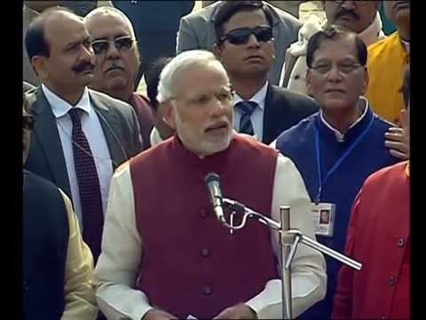 PM  NARENDRA MODI REVIEWS SWACHHATA ABHIYAN AT ASSI GHAT