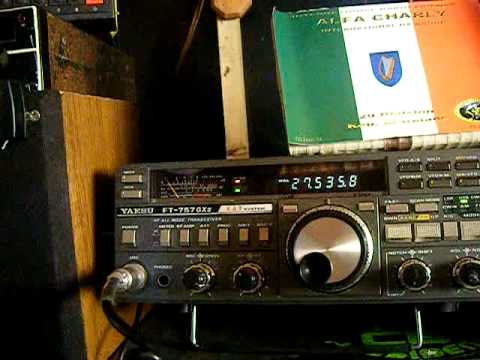CB radio cq cq dx  11m  2011