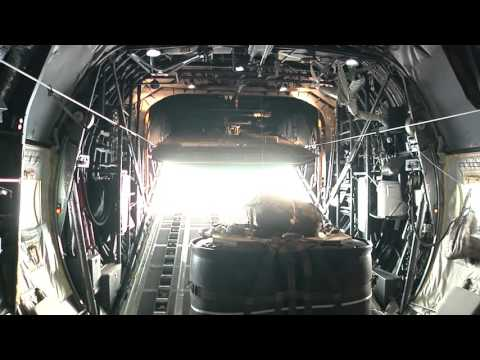 Yokota Air Base Demonstrates Their Airlift Capability Over Korean Peninsula