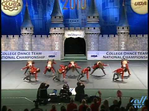 UDA College Nationals 2010: University of Louisiana- Lafayette --Div IA Hip Hop 11th place Video