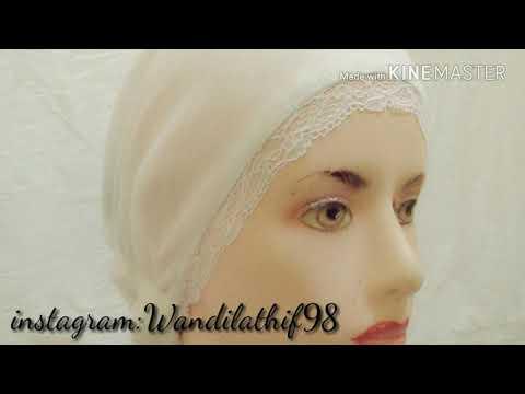 Konveksi Dalaman hijab ciput renda