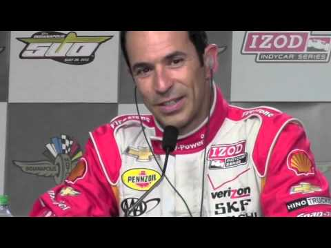 Helio Castroneves' 2013 Indy 500 Pole Day Press Conference
