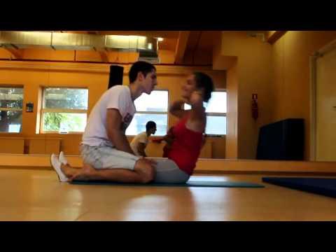 Видео упражнения для похудения спины в домашних условиях