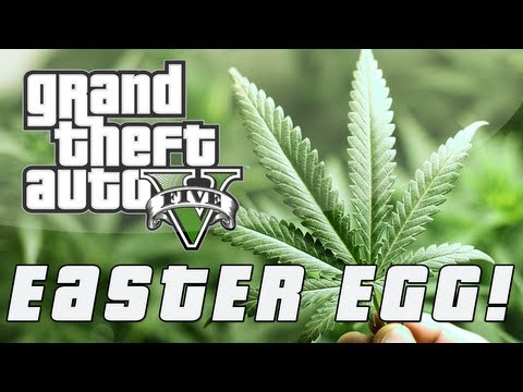 Grand Theft Auto 5 | Secret Weed Farm Easter Egg (GTA V)