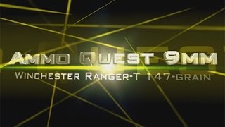 Ammo Quest 9mm: Winchester Ranger T 147gr test in ballistic gel