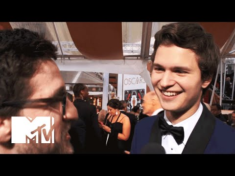 Ansel Elgort Can't Wait To Work With Edgar Wright | MTV