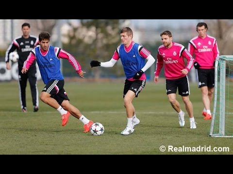 Real Madrid - Training session / Entrenamiento 16/02/2015