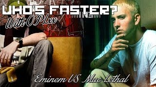 Eminem Video - Who's Faster: Mac Lethal VS Eminem
