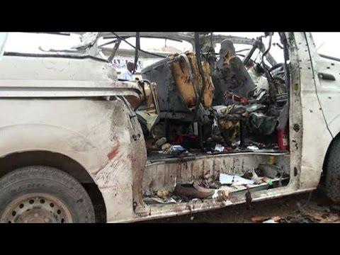 Somali Shebab bomb on UN bus kills at least six