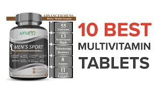 10 Best Multivitamin Tablets for Men in India with Price