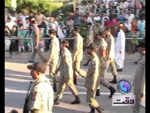 Lahore Report On Rangers Prade At Wagha Border 14 August 2011 video
