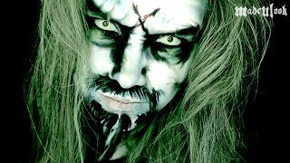 Rob Zombie Transformation Makeup Tutorial