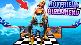 Girlfriend VS Boyfriend Deathrun! 😍 (Fortnite Creative Mode)