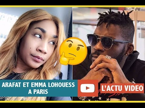ACTU VIDEO  Emma Lohoues et Arafat Dj ensemble à paris