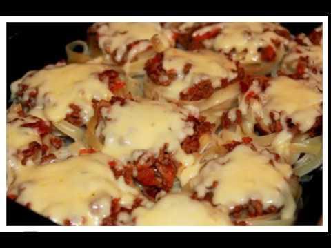 Гнезда из макарон в духовке! Вкусно, сочно и необычайно нарядно!