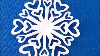 Paper snow flake challenge - Can you do it? - Detailed tutorial