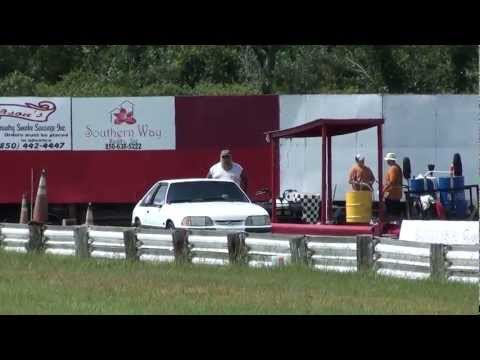 The Ghost runs at Panama Beach Raceway