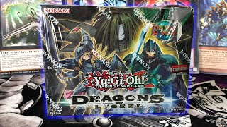 *YUGIOH FACTORY ERROR* Dragons of Legend 1st Booster Box Opening / Unboxing! Worst or Best Ever?