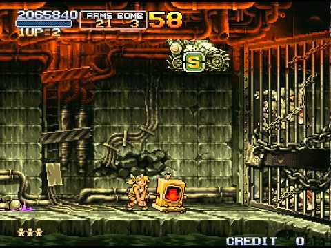 Metal Slug 2: Super Vehicle-001/II Walkthrough Neo Geo