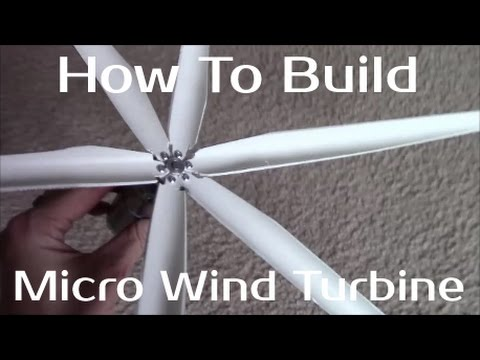 How To Build A Micro Wind Turbine - Part1