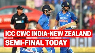 ICC Cricket World Cup 2019: India-New Zealand face off in the first semi-final