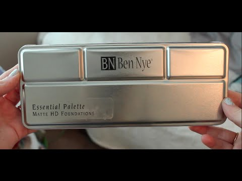Ben Nye Foundation Palette  Review   CRC