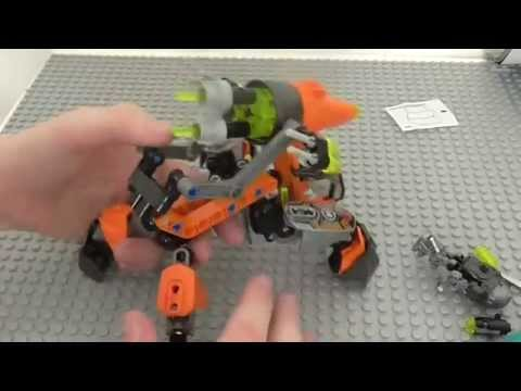 Lego Hero Factory Bulk Drill Machine Review! 44025