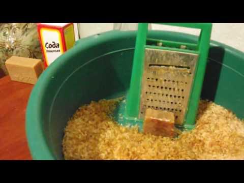 Как сделать стиральный порошок в домашних условиях-рецепты