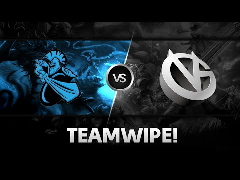 Teamwipe by NewBee vs VG @ The International 2014