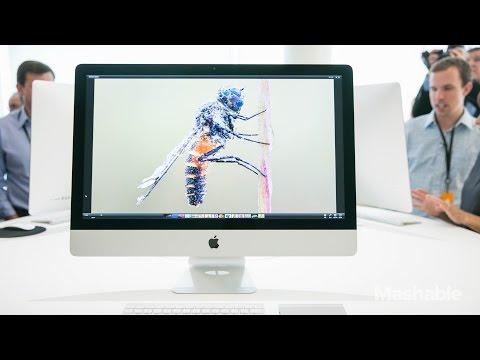 iMac with Retina 5K Display Hands On   Mashable