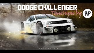 "Dodge Challenger R/T ""GT-R"" Timelapse by RP. DESIGN [Virtual Tuning]"