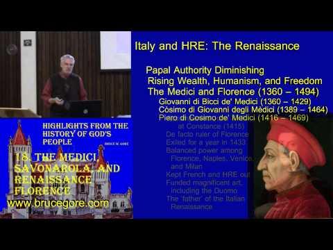 18. The Medici, Savonarola, and Renaissance Florence