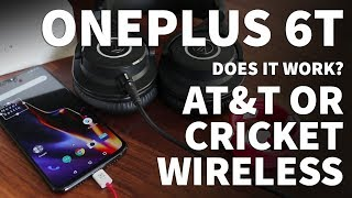 Does Cricket Wireless Work on OnePlus 6T – Will AT&T and Cricket LTE Work on OnePlus 6T