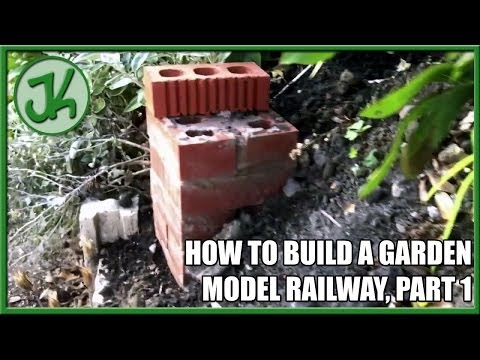 How to Build a Garden Model Railway. part 1