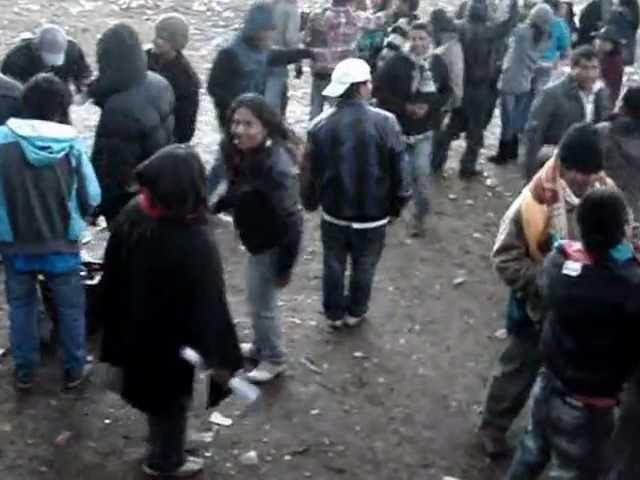 benny y los waris de palca en vivo 2012