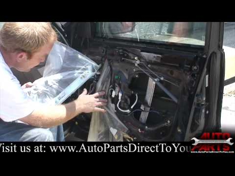 1995 Toyota Avalon Window Regulator Repair