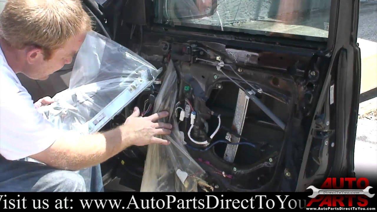 1995 Toyota Avalon Window Regulator Repair Youtube