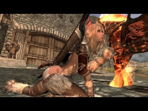 Skyrim Mods of the Week 2 - Sexy High Heels Walk