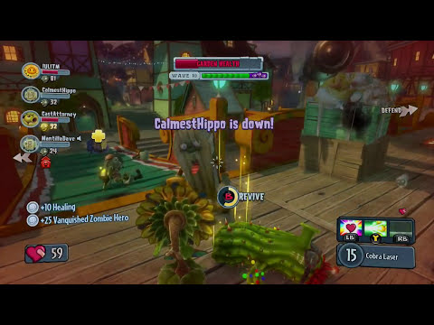 Plants vs. Zombies: Garden Warfare - Sun Pharaoh Gameplay Walkthrough (PC/Xbox One/Xbox 360)
