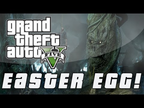 Grand Theft Auto 5 | Tree With a Face Easter Egg (GTA V)