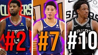 Ranking the BEST Shooting Guard From EVERY NBA Team (2019-20)