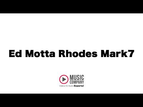 Ed Motta com piano Rhodes Mark7:  A Tijuca em Cinemascope