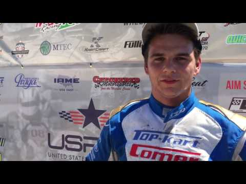 Dakota Pesek Post Event USPKS Shawano Interview