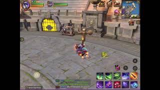 Crusaders Of Light Shadow Knight Rotation 100k dps 80k cr EvoSpeed (Smallpox)